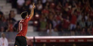 Fernando Gaibor festejo