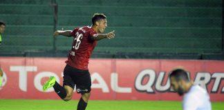 Festejo Mauro Molina Independiente vs Atlas