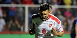Festejo gol Silvio Romero