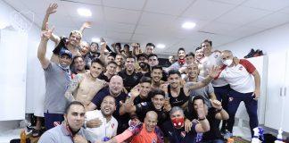 Independiente-Festejo-Vestuario-Atletico
