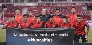 Puntajes Rojos vs Boca