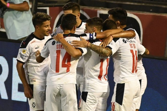 Festejo Independiente gol