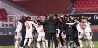 Independiente-Festejos-Estudiantes-Copa-de-la-Liga-Profesional