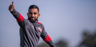 Jonathan-Herrera-Independiente-Entrenamiento-Villa-Domínico