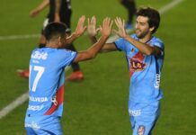 Lucas-Albertengo-Arsenal-vs-Bolívar-Rojos-por-el-Mundo-Copa-Sudamericana