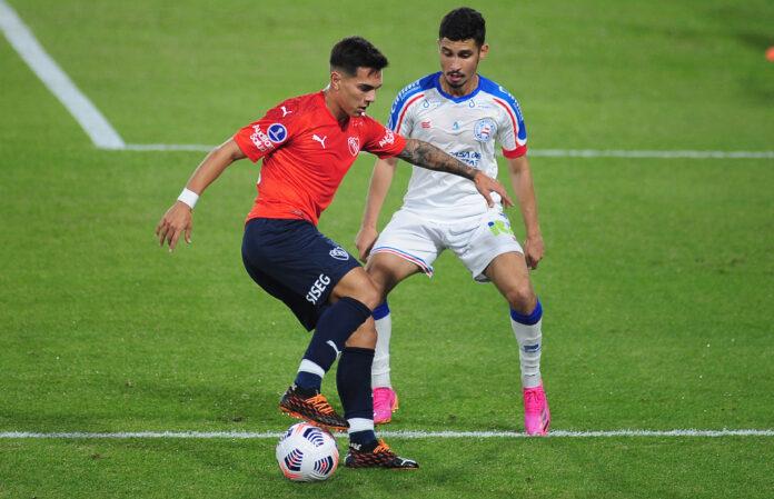Lucas-González-Independinete-vs-Bahía-Copa-Sudamericana