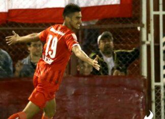 Lucero-gol-Independiente-vs-Huracán 2015