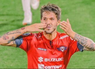 Patito-Rodríguez-Jorge-Wilstermann-vs-Ceará-Copa-Sudamericana