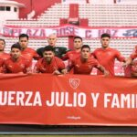 Plantel-Independiente-vs-Huracán-Bandera-Falcioni