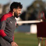 Joaquín-Laso-Independiente-Entrenamiento-Villa-Domínico