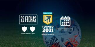 Liga-Profesional-2021-Segundo-Semestre-Argentina-AFA-Independiente-Sorteo-Fixture