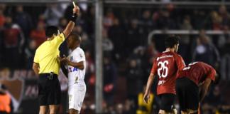Diego-Haro-Árbitro-Independiente-Santos-Vuelta-Conmebol-Copa-Sudamericana-Libertadores