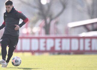 Fabricio-Bustos-Concentrados-vs-Estudiantes-Liga-Profesional-Entrenamiento-Villa-Domínico