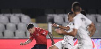 Fabricio-Bustos-Independiente-vs-Santos-Copa-Sudamericana-Ida-Brasil-Compacto