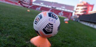 Pelota-Independiente-Estadio-Libertadores-de-América-Día-vs-Argentinos-Jrs-Fixture-Liga-Profesional