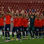 puntajes-rojos-independiente-santos-sudamericana