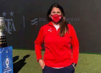 Florencia-Mercau-Fútbol-Femenino-Independiente-Presentación-Torneo