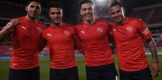 Independiente-Juan-Zarza-Matías-Sosa-Julián-Romero-debuts-vs-Colón