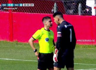 Renzo-Bacchia-Expulsión-Penal-Polémica-Independiente-Racing-Reserva