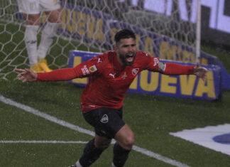 Silvio-Romero-Gol-vs-Racing-Liga-Profesional-Libertadores-de-América-Números-Rojos-Racha