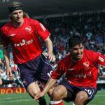 Frutos-Kun-Aguero-Independiente-Racing-Apertura-2005-Efeméride-Clásico-Avellaneda-Falcioni-Avellaneda-Doble-Visera