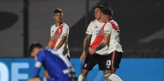 River-vs-Sarmiento-Junín-Liga-Profesional-Rival-Independiente-Enzo-Pérez