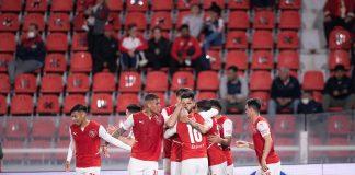 Festejo gol Independiente