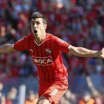 Sebastián-Penco-Independiente-Aldosivi-Ambas-Camisetas-Previa