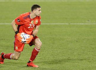 Selección-Argentina-Perú-Monumental-Dibu-Martínez-ex-Independiente